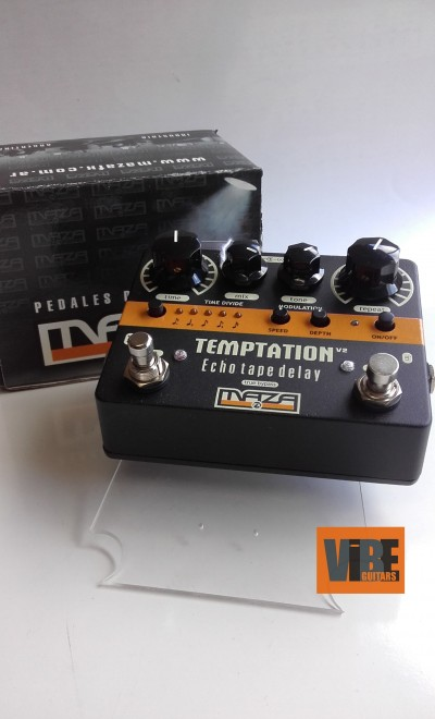 Maza Fx Temptation V2 Echo Delay  Black