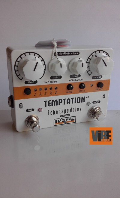 Maza Fx Temptation V2 Echo Delay  White