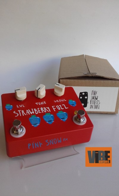 Pink Snow Effects Factory Strawberry Fuzz