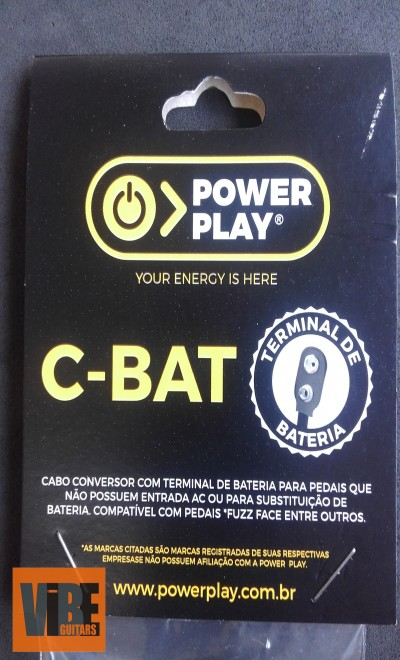 Power Play Cabo Conversor C-BAT