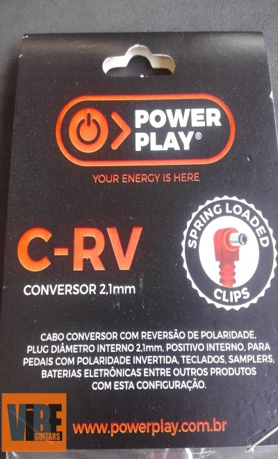 Power Play Cabo Conversor C-RV 2,1mm