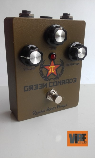 Romani Audio Works Green Comrade Fuzz
